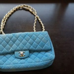Classic Chanel purse well used